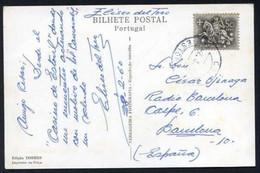 TP Autógrafa *Eliseo Del Toro* Dirigida A Radio Barcelona, 28-2-1960 Desde Estoril. - Autógrafos