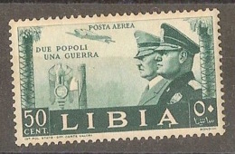 ITALY LIBYA 1941, Hitler/Musolini - Libia