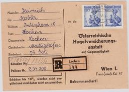 1956, Reco-Kaerte, MeF! , #6139 - 1945-60 Briefe U. Dokumente