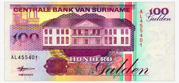 SURINAME 100 GULDEN 1998 Pick 139b Unc - Surinam