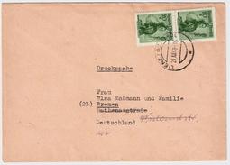 1949, Ausland-Drucksache , #6140 - 1945-60 Briefe U. Dokumente