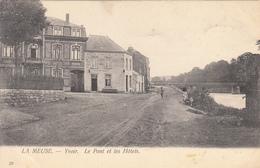 La Meuse - Yvoir - Le Pont Et Les Hôtels - Yvoir