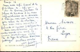 ESPAGNE / MAROC - Oblitération De Tanger Sur Carte Postale En 1952 - A Voir - L  3549 - Spaans-Marokko