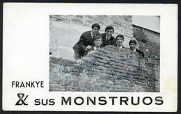*Frakye & Sus Monstruos* Firma Autógrafa. Impreso Promocional. Medidas: 104x151 Mms. - Autógrafos