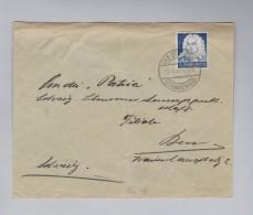 Heimat DE Rh-Pf BAD DÜRRHEIM 195-10-11 Brief Nach Bern - Deutschland