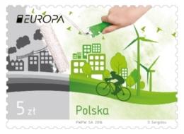 Poland  2016 Mi 4831 Europa Cept Environment, Ecology, Eco, Nature Protection MNH ** - Nuevos