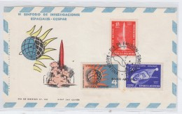 Argentina SPACE FDC ONLY FRONT 1965 - FDC & Gelegenheidsboekjes