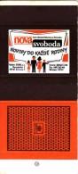 """Czechia Boites D'allumettes Poêlon, Mint Matchbox Skillet, Bratpfanne, Journal """"Nová Svoboda"""" Ostrava - Boites D'allumettes"""