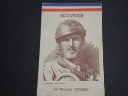 FRANCE / MILITARIA - Document Souvenir Du Général Leclerc - A Voir - L  3572 - Documents