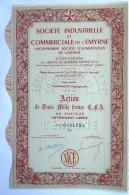 ACTION SOCIETE INDUSTRIELLE ET COMMERCIALE DE L'EMYRNE MADAGASCAR  -  1911 TITRE 0051924 - Afrique