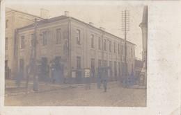 Foto Grodno Hrodna Belarus 1915 Landsturm Batl. 4.Armeekorps Deutsche Soldaten 1.Weltkrieg Wache Militärpolizei - Belarus