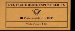 Markenheftchen 4 B Zwinger Dresden Postfrisch ** MNH - Markenheftchen