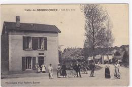 Vosges - Halte De Hennecourt - Café De La Gare - Non Classés