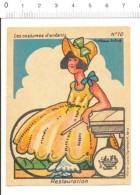 Chromo Phosphatine Falières Costumes D'enfants / Epoque Restauration Robe Mode Habillement Costume Dame  //  IM 110/1 - Autres