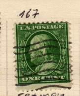 TIMBRE PROVENANT D UNE ANCIENNE COLLECTION - Stati Uniti