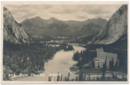 BANFF - Carte Photo - Bow Valley - Banff