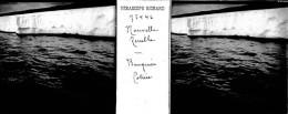 MO 37 - PLAQUE PHOTO VERRE STEREO - EXPEDITION POLAIRE - NORVEGE - BANQUISE COTIERE - Plaques De Verre