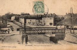 08 LE CHESNE  Pont Sur Le Canal Des Ardennes - Le Chesne