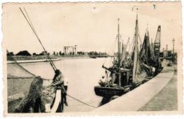 Nieuwpoort, Nieuport, Koning Albertgedenkteken En De Haven (pk30454) - Nieuwpoort