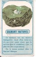 CHROMO PHARMACIE CLEMOT NIORT LES MINERAUX  DIAMANT NATUREL - Autres