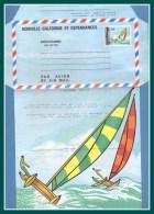 Nouvelle Calédonie Aérogramme N° AE 11 ** Régates 65F 1986 - Luftpost