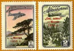 POLAIRE Russie URSS **LUXE 1955 Pa 102 Et 103 En Paire