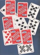 12 CARTES A JOUER BISCOTTES BOUGARD - 32 Cartes
