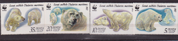 RUSSIA 1987 - WWF Polar Bears - Orsi MNH - W.W.F.