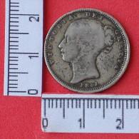 MEDALHA - VITORIA DEI GRATIA - 1851   -  SILVER 4,36 GRS  (Nº11894) - Royal/Of Nobility