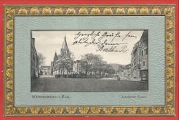 67 - WEISSENBURG - WISSEMBOURG - Carte Gaufrée - Anselmann Staden - Wissembourg