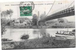 78 CONFLANS FIN D'OISE - Le Pont Et Le Vieux Moulin (la Galerie) - Conflans Saint Honorine