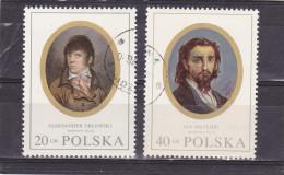 POLOGNE     Y. T.  N° 1866  à  1873  Incomplet   Oblitéré - Gebraucht