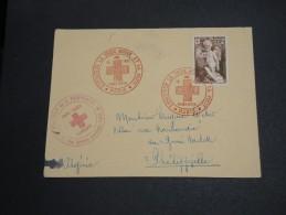 FRANCE - Enveloppe Croix Rouge Pour Philippeville En 1951 - A Voir - L  3601 - Marcophilie (Lettres)