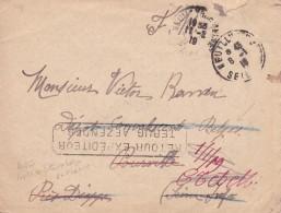 Belgique - Postes Militaires - Lettre De L'armée Belge Vers Dépôt De Convalescents Belges - Guerre 14-18