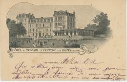 SAINT HONORÉ LES BAINS - Hôtel Du Morvan - Saint-Honoré-les-Bains