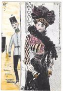 Art Nouveau R.KIRCHNER BOZZETTO DIpinto A MANO SAGGIO-ESSAY-ESSAI-ENSAYO         INEDITA. - Kirchner, Raphael