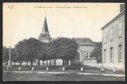 VORNAY Place De L'Eglise Ecole Des Filles (Maquaire) Cher (18) - Sonstige Gemeinden