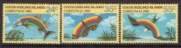 Cocos (Keeling) Islands 1984 Christmas Set Of 3, MNH (B) - Cocos (Keeling) Islands
