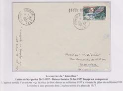 TAAF - Iles Australes - Kerguelen - Kista Dan - 2 Scans - Faune - Covers & Documents