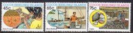 Cocos (Keeling) Islands 1987 Malay Industries Set Of 3, MNH (B) - Cocos (Keeling) Islands
