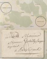 Ecrite De RECEY SUR OURCE, LAC CHATILLON SUR SEINE Cote D'Or. 1816. - Storia Postale