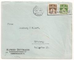 COVER  KOBENHAVN OMK DANMARK TO Goteborg SVERIGE. 1928..
