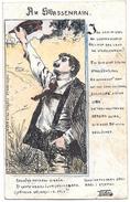 Art Nouveau RAPHAEL KIRCHNER  Bozzetto- Dipinto A Mano - SAGGIO- ESSAY - ESSAI - ENSAYO  - INEDITA - - Kirchner, Raphael