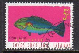Cocos (Keeling) Islands 1995 Marine Life Definitive 5c Value, Used (B) - Cocos (Keeling) Islands