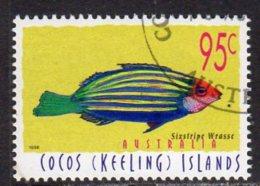 Cocos (Keeling) Islands 1995 Marine Life Definitive 95c Value, Used (B) - Cocos (Keeling) Islands