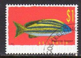 Cocos (Keeling) Islands 1995 Marine Life Definitive $1 Value, Used (B) - Cocos (Keeling) Islands