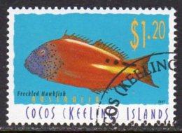Cocos (Keeling) Islands 1995 Marine Life Definitive $1.20 Value, Used (B) - Cocos (Keeling) Islands
