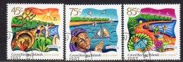 Cocos (Keeling) Islands 1997 Hari Raya Puasa Festival Set Of 3, Used (B) - Cocos (Keeling) Islands