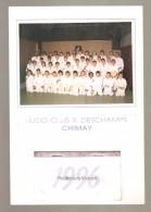 1996 - JUDO-CLUB R. DESCHAMPS CHIMAY - Calendriers