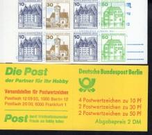 Markenheftchen 11 D A Berlin Burgen Und Schlösser Postfrisch ** MNH - Markenheftchen